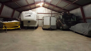 Indoor RV, boat or car storage.
