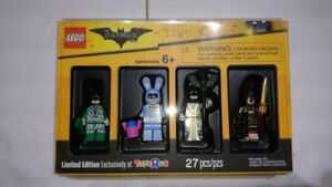 Lego Batman 4 Pack Limited Edition Minifigures
