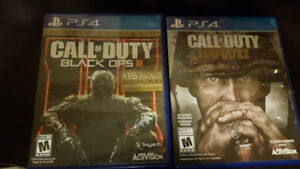 Call of Duty Black Ops 3 & WW2