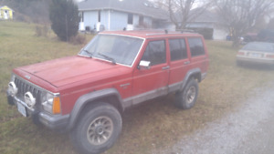 1989 Jeep Cherokee (part out / or as whole)