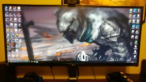 Lg ultra wide pc monitor