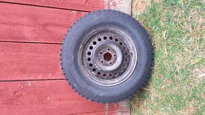 4 Hankook IPike Winter tires w/ rims