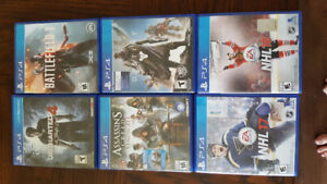 [ REDUCED X2 ]   Multiple PS4 Games For Sale