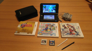 Nintendo 3DS XL with 4gb card & 6 games.