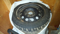 Four Winter Tires with Wheels... 5X120 (BMW or others)