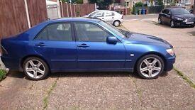 Lexus is200 any blue 8n8 door complete 98-05 breaking spares is 200 is300