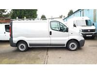 2014 Vauxhall Vivaro Only 53000 Miles From New,Metalic Silver,Six Speed Gearbox,