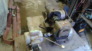 industrial winch with 70-1 reduction box & electric motor Belleville Belleville Area image 2