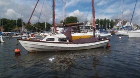 18 foot Drascombe Lugger