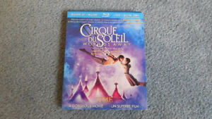 Cirque du Soleil Worlds Away Bluray 3D + Bluray + DVD