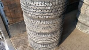Set of 4 Michelin Harmony 225/60R16 tires (70% tread life)
