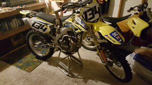 2007 SUZUKI RMZ 450 Peterborough Peterborough Area image 1