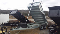 Amazing Prices On Galvanized Dump and Utility Trailers! Saint John New Brunswick Preview