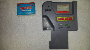 Gameboy Game Genie, Gbc/Gba Trading Cable and Car power cord