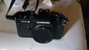35mm SLR film camera body and three lenses