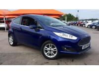 2017 Ford Fiesta 1.25 82 Zetec 3dr Manual Petrol Hatchback