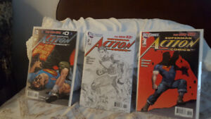 Pristine collection Action Comics/Superman/Unchained plus more!