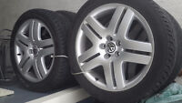 VW Long Beach rims and tires