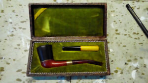 Vintage William Demuth bakelite smoking  pipe tobacco