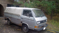 1986 Volkswagen Transporter Pickup Truck AS IS