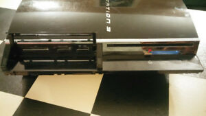 PS3 Fat 60 With 500gb Clean & Working. Just Consol.