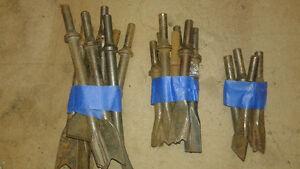 Air chisel tools