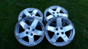 4 Chevy Alloy; 5 Spoke; rims