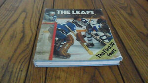 1976 leafs hockey book