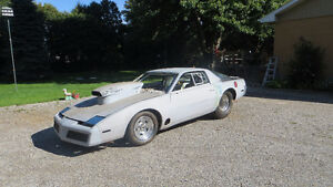 85 Firebird Drag car