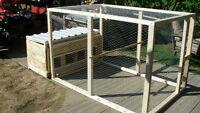 grand poulailler ou cage a poule