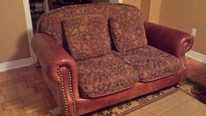 Decor-Rest sofa and loveseat couches leather/fabric