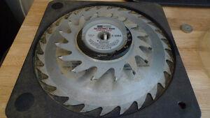 Sears Craftsman Adjustable Dado Carbide Tipped Blade Made in USA