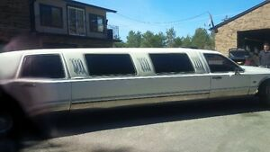 1996 Lincoln Town Car limousine, $499.000