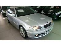2003 BMW 3 SERIES 320CI SE Silver Manual Petrol