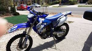 2001 yamaha wr400f / wr 400 road registered / immac condition Melton Melton Area Preview
