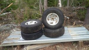 Goodyear Ultra Grip Studded Tires and Rims