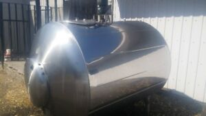reservoir a lait  stainless