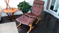 Superbe fauteuil norvégien vintage mid-century INGMAR RELLING