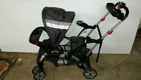 Baby Trend Sit N Stand Stroller poussette double