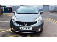2017 Nissan Note TEKNA Manual Diesel Hatchback