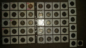 Old vintage $0.50 coin collection only 1$ each..see other ads... London Ontario image 1