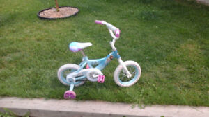 Kids beginner bicycle
