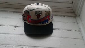 1996 Chicgao Bulls Cap and Detroit Red Wings Satnley Cup Cap