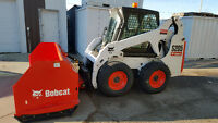 Fast, Efficient Snow Removal With Bobcat Skid Steer