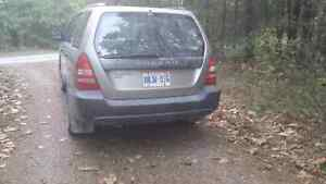 2005 Subaru Forester for sale AS IS