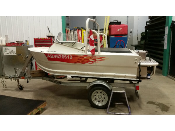 Used 2012 Other Angry Bird 9 ft aluminum jet boat c/w 951 rotax