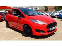 2014 Ford Fiesta 1.0 EcoBoost 140 Zetec S Red 3 Manual Petrol Hatchback