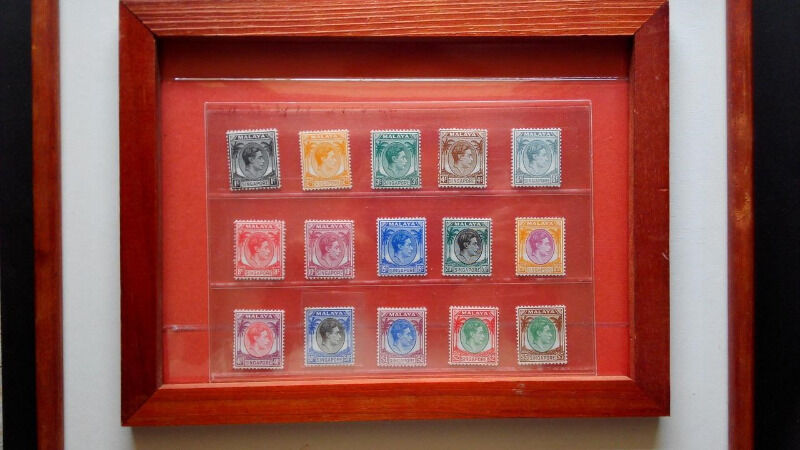 ~~Straits Settlements Singapore KGVI 1948 Complete set of MNH Stamps~~