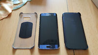 Samsung Galaxs S6 Edge with 64gb and 2 Cases & Screenprotector
