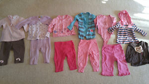 Girl's 6-12 month spring clothes - $1 each